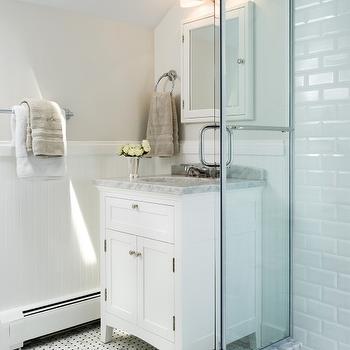 Restoration Hardware Bathroom Vanity, Transitional, bathroom, Haus Interior