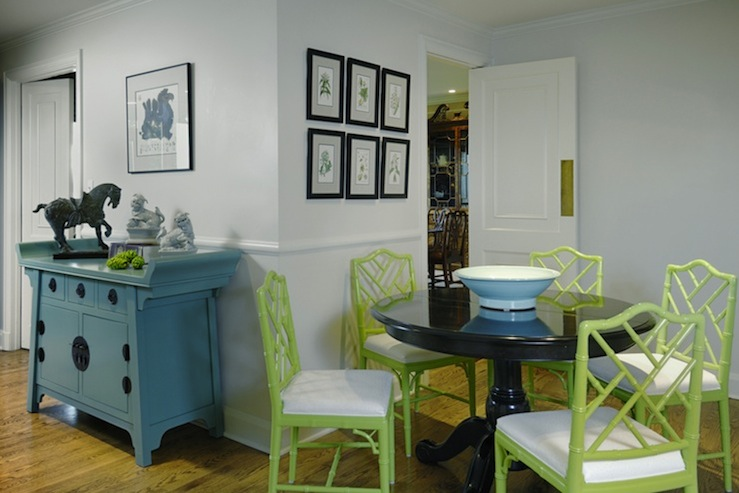 Faux Bamboo Chair - Contemporary - dining room - Benjamin Moore ...