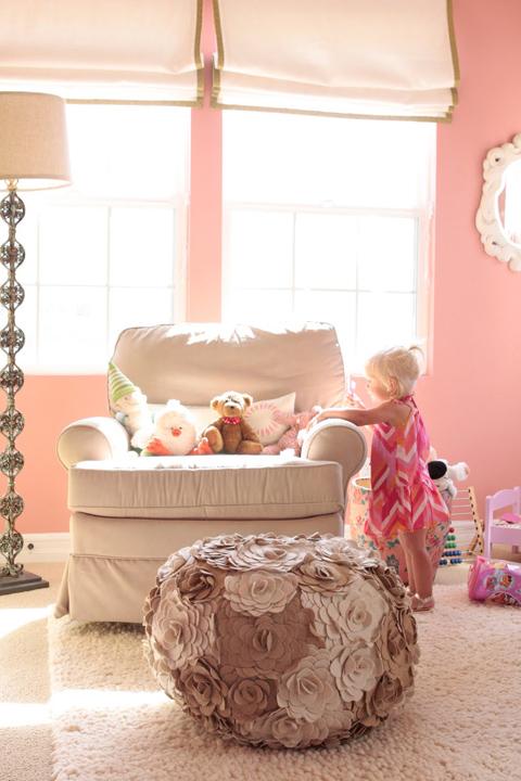 Pink Nursery Transitional Nursery Benjamin Moore