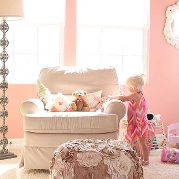 Pink Nursery, Transitional, nursery, Benjamin Moore Cool Lava, Me oh my!