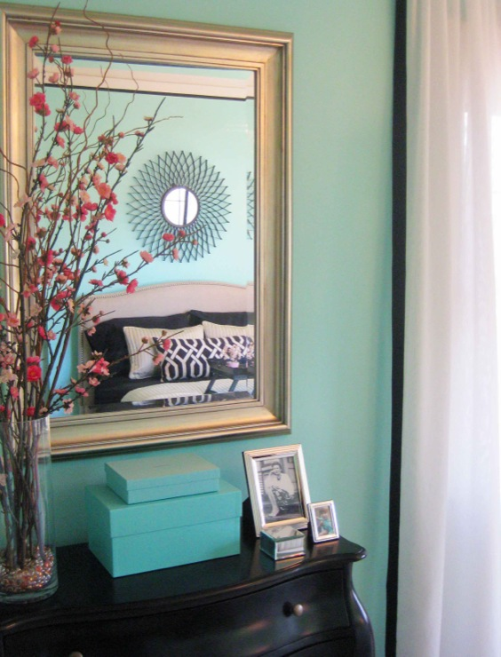 Tiffany Blue Bedroom View Full Size