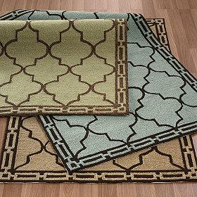 Tilework Indoor / Outdoor Rug, The Company Store