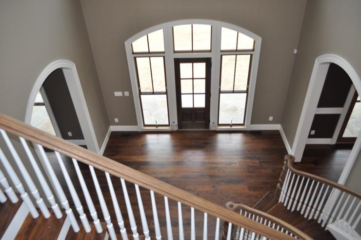 Gray Foyer Paint : Entrance foyer pratt and lambert kodiak gray