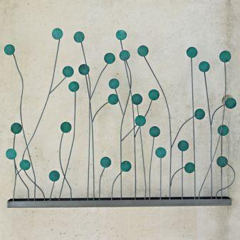 CB2, weeds wall art
