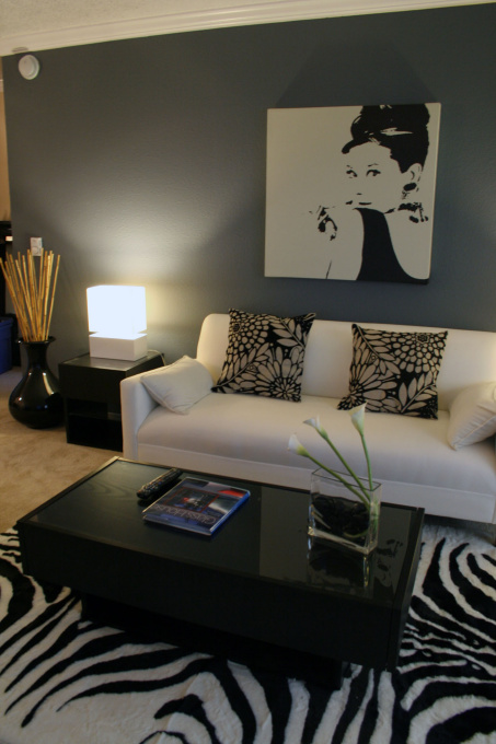 View Post - Black or Brown Furniture with Gray walls?