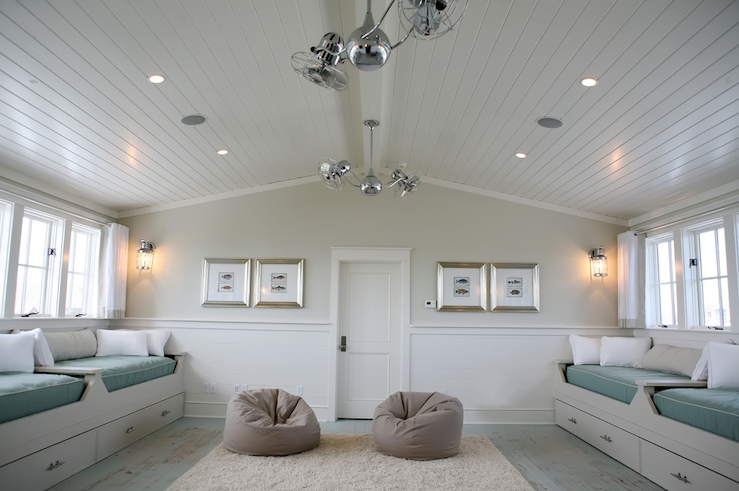 How To Paint A Room With Wainscoting And Slanted Walls