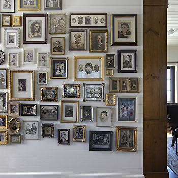 Eclectic Photo Wall, Traditional, entrance/foyer, Urban Grace Interiors