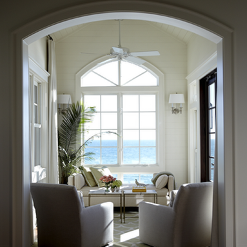 Beach Cottage Living Room Cottage Living Room Urban Grace Interiors