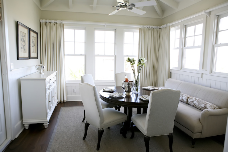 Dining Settee - Transitional - dining room - Urban Grace Interiors