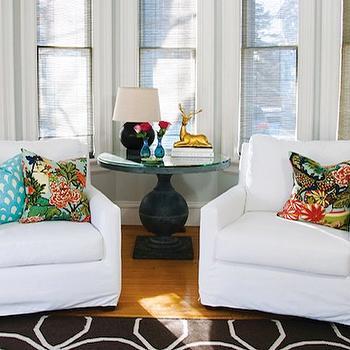 Chiang Mai Dragon Pillows, Contemporary, living room, Shelter Interior Design