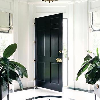 Round Foyer, Transitional, entrance/foyer, Atlanta Homes & Lifestyles
