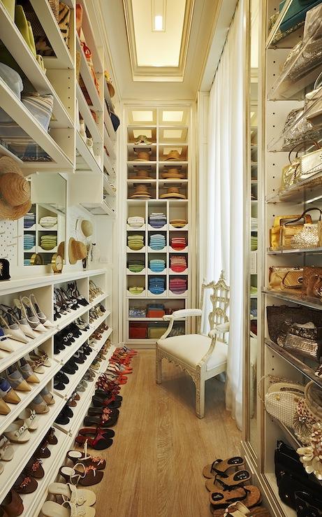 Sweater Storage Shelves