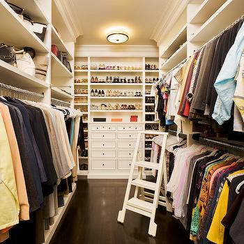 Ladder for Closet, Transitional, closet, Closette