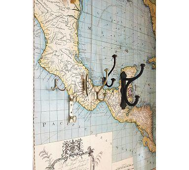 Map Wall Decal Pottery Barn
