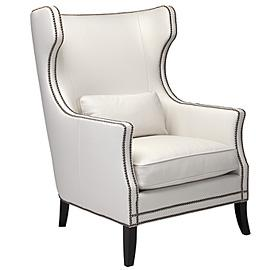 Contemporary White Accent Chair Gallery