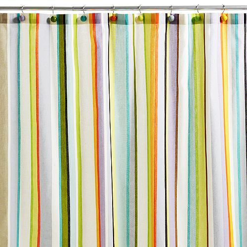 cabana stripe shower curtain echo design shop designer scarves home d
