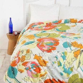 UrbanOutfitters.com > Watercolor Floral Duvet Cover