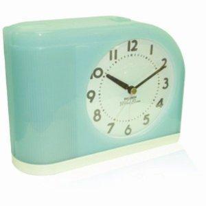 Amazon Com Westclox 1950 Big Ben Moonbeam Aqua Blue Alarm