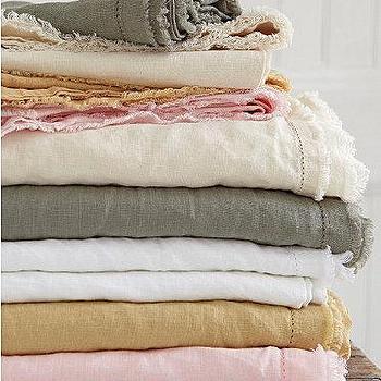 Eileen Fisher Sheer Linen Shower Curtain Garnet Hill
