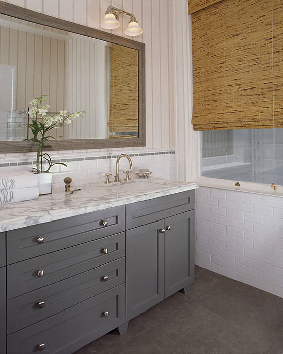 gray washed bathroom vanity design ideas