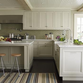 Beadboard Ceiling, Cottage, kitchen, Marshall Watson Interiors