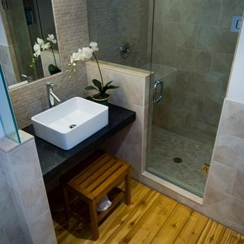 Floating Vanity, Asian, bathroom, BiglarKinyan Design