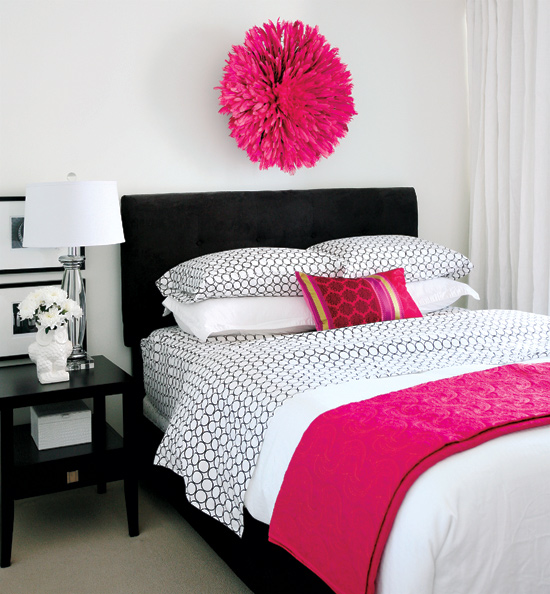 Hot pink design ideas - Hot pink room ideas ...