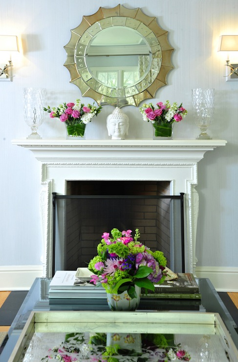 Mirror Fireplace Design Ideas