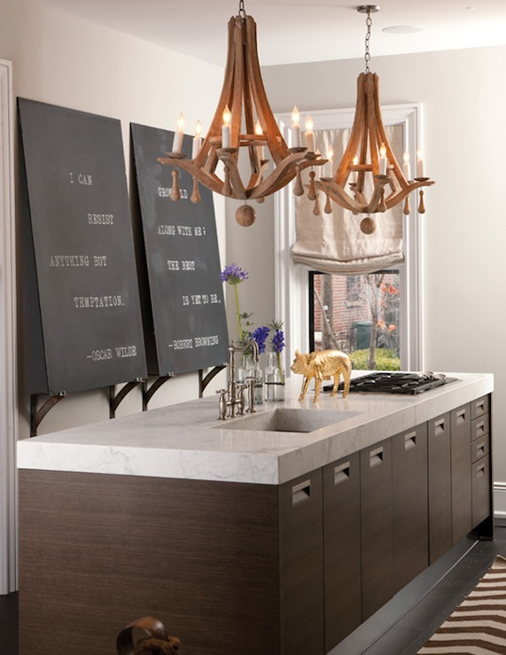 Arteriors manning chandelier transitional kitchen capital style - Stunning modern kitchen lighting proper illumination style ...