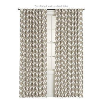 Teramo Curtain Panel, Crate&Barrel