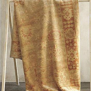 Eileen Fisher Hand-Knotted Oushak Rug, Garnet Hill