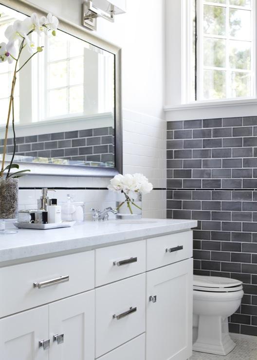 Gray Subway Tile Bathroom Design Ideas on grey tiles in bathroom, rectangular sinks for bathrooms, best colors for small bathrooms, 3x6 subway tile bathrooms, grey grout bathrooms, grey vanity bathrooms, cream subway tile bathrooms, subway tile showers for bathrooms, grey italian tile bathroom, black and white subway tile bathrooms, tile thresholds for bathrooms, grey bathroom floor tiles, grey granite bathrooms, grey beadboard bathroom, grey and tan tiled bathrooms, grey wood bathrooms, grey bathroom tile ideas, subway tiles in small bathrooms, grey tile shower, grey black bathrooms,