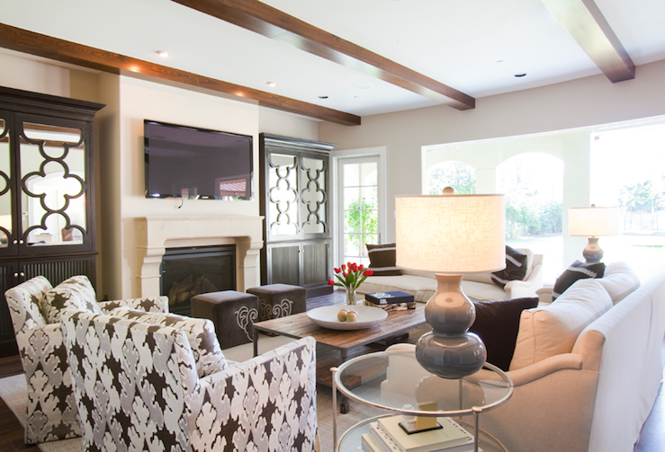 View Full Size Chic Living Room