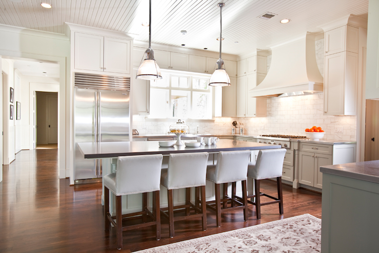Beadboard Ceiling Transitional Kitchen Dodson And
