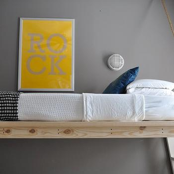 Yellow and Gray Boy's Room, Contemporary, boy's room, The Bumper Crop