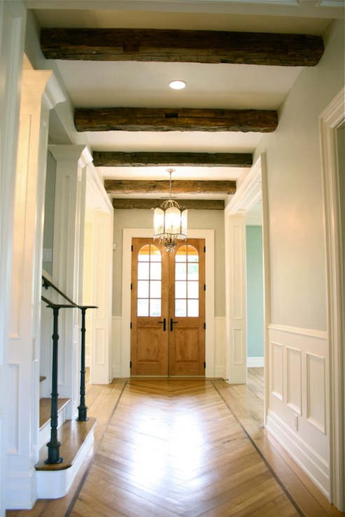 Rustic Wood Beams Design Ideas