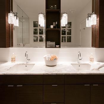 Double Vanity Ideas, Contemporary, bathroom, The Cross Decor & Design