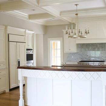 Coffered Ceiling Kitchen, Traditional, kitchen, Tiek Built Homes