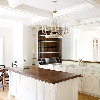 Double Kitchen Islands, Transitional, kitchen, Tiek Built Homes