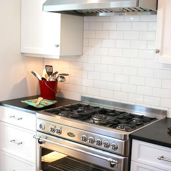 Subway Tiles Backsplash, Transitional, kitchen, Tiek Built Homes