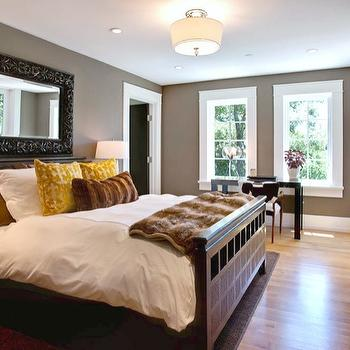 Lacquered Parsons Desk, Contemporary, bedroom, Urrutia Design