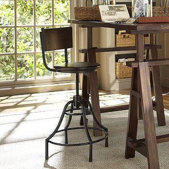 Foster Swivel Desk Chair, Pottery Barn