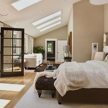 Bedroom with Sloped Ceiling, Contemporary, bedroom, Urrutia Design