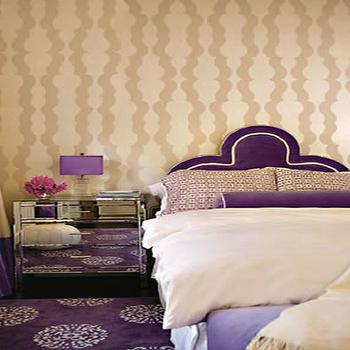 Mirror Nightstand, Contemporary, bedroom, Zoldan Interiors