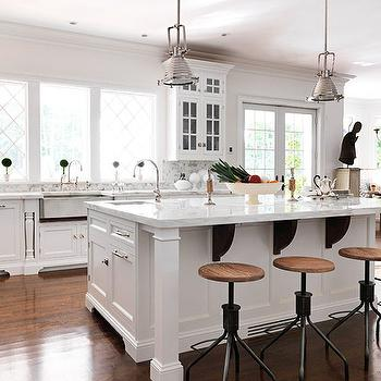 Kitchen Island Kitchen Colors Light Wood Cabinets White Three Light