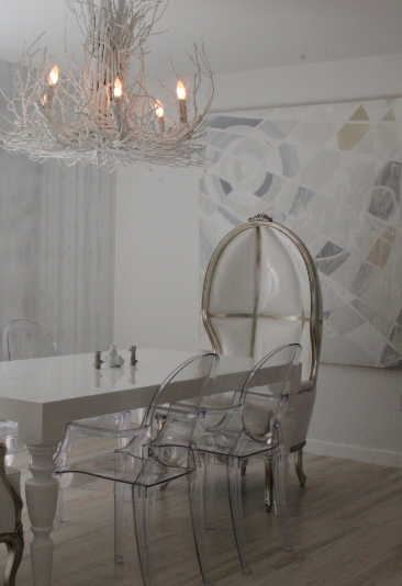 Dome Chair & Dome Chair - Transitional - dining room - Liv Chic Interior Design
