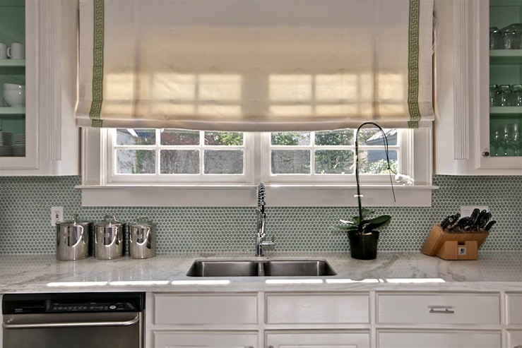 white kitchen green backsplash kitchen island oven transitional kitchen the semi 298