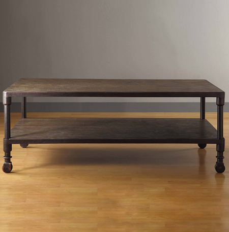 Restoration hardware dutch industrial coffee table look 4 less Restoration coffee tables