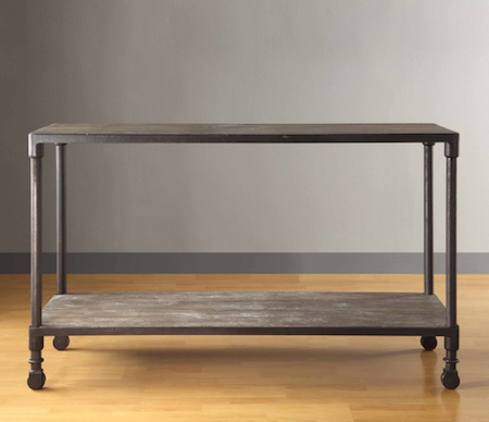 Overstock Renate Grey Sofa Table View Full Size