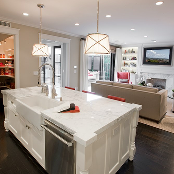Awesome Sink And Dishawasher In Kitchen Island